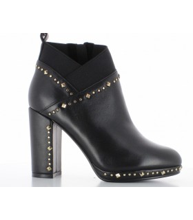 BOTTINES CAFE NOIR H18